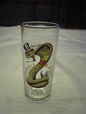 Cobra 12 oz  tall glass by DON ED HARDY designs