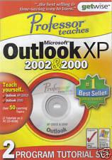 PROFESSOR TEACHES MS OUTLOOK XP 2002 & 2000 (UK PC CD-ROM) (Sld)