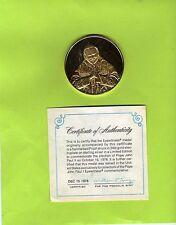 Medalla papa juan pablo ii-Sterling plata transacci. (18 g) (23674-o1)