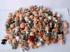 Random Pick Lot of 20 Kewpie Dolls Toys cute baby Figurine old w color