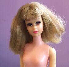 Vintage 60s Blonde Twist N Turn TNT Mod Francie Doll By Mattel