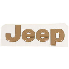 1996-1998 JEEP GRAND CHEROKEE HOOD EMBLEM BADGE NAMEPLATE OE MOPAR 5EM87SY1
