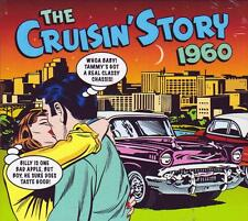 THE CRUISIN' STORY 1960 - 50 TRACKS - VARIOUS ARTISTS (NEW SEALED 2CD)