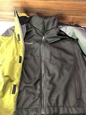 Columbia Tech Interchange Titanium Mens  3 In 1 Ski Snow Jacket  Grey Green S