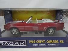 1:18 Ertl #33780 Cragar 1969 Chevy Camaro RS Cabrio Lmtd.Ed. 1of 1500  RARITÄT§
