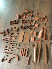 Lego Bricks Bundle: Random Brown Pirate castle