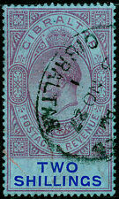 Sg99a, 2s reddish purple and blue/blue, FINE used. Cat £42.