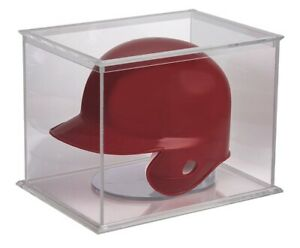 Mini Helmet Display Case UV PROTECTED Football Baseball Holder Ultra Pro NEW