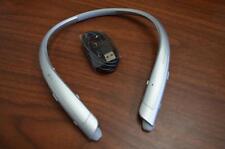 Genuine LG Tone Platinum HBS-1100 Bluetooth Headset Harman Kardon Silver HBS1100