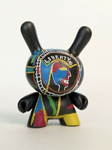 Dunny Jean-Michel Basquiat 2018 Two-Sided Coin - 3'' vinyl art toy kidrobot RARE