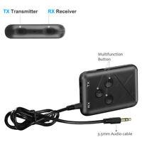 T10 Adaptateur Bluetooth sans Fil Jack 3,5mm   Faible Latence pour Casque TV