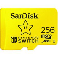 SanDisk 256GB MicroSDXC UHS-I Card for Nintendo Switch -64G/ 128G/ 256G