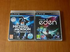 Child of Eden & Michael Jackson Experience, PS3 - Move Compatible - New & Sealed