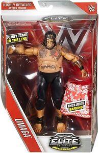 WWE ELITE SERIES 40 UMAGA WWF WRESTLING MATTEL ACTION FIGURE