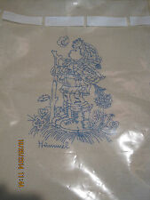 VINTAGE NEEDLEPOINT CANVAS HUMMEL #0233 LITTLE BOY DUTCH GERMAN 1975 COLOR CHART