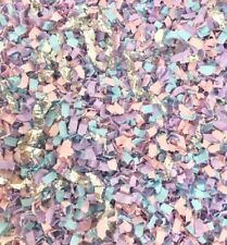 MERMAID PINK LILAC Biodegradable Throwing Wedding Party Confetti Paper 20 guests