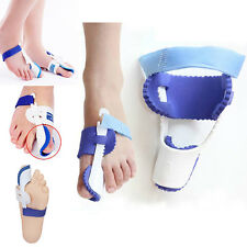 1Pair Big Toe Bunion Foot Pain Relief Hallux Valgus Night Splint Straightener