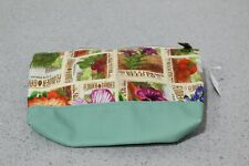 Brand New 2019 Disney Flower And Garden Cosmetic Bag/Travel Bag Free S&H