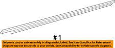 Dodge CHRYSLER OEM 08-18 Challenger Door-Belt Molding Left 55399123AG