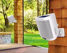 ION Keystone Wireless Mountable Solar Rechargeable Waterproof Patio 2 Speakers