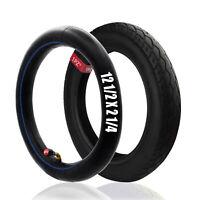 12-1/2 x 2-1/4 Tire & Heavy Duty Inner Tube 12.5 x 2.25 Bent Stem Mini Dirt Bike