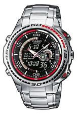 Casio Edifice reloj efa-121d -1 avef analógico, digital plata