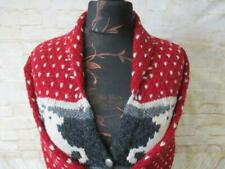 WOMENS LIMITED HANDKNIT CANADIAN COLLARED CARDIGAN SIZE 16-18 / REF X2948