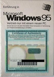 Microsoft Windows 95 - Deutsch, ohne USB - NEUWARE