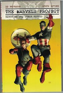 MARVELS PROJECT Birth of the Super-Heroes TP TPB $29.99 srp Ed Brubaker NEW