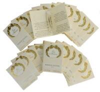Eau d'Hadrien by Annick Goutal for Women EDT Perfume Vial .06oz 60% Full 25pk