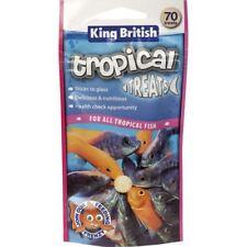 King British Tropical Fish Treats (70 Treats) Tropical Fish Food