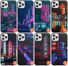 Asian Neon Cities Photographs Slim Phone Case for iPhone | City Lights Japan Bri