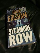 SYCAMORE ROW * JOHN GRISHAM * CLEAN PAPERBACK * VERY GOOD * JAKE BRIGANCE *