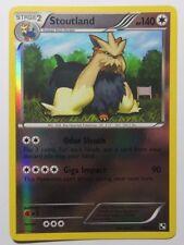 Stoutland REV HOLO - 83/114 Black and White Base Set - Rare Pokemon Card