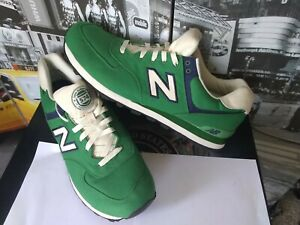 New Balance 574 Rugby Pack heritage Green Canvas Mens 16 2E EE WIDE