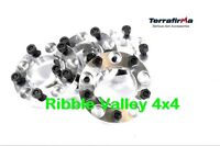 TF301 TERRAFIRMA WHEEL SPACERS AND NUTS 30MM LAND ROVER DEFENDER 90 110 130