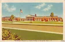 The Shriner'S Hospital For Crippled Children At Springfield, Ma 1946