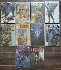Lot of 10 INDEPENDENT COMICS - MANY #1's