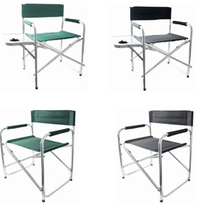 Aluminium Portable Directors Folding Chair Lightweight Camping Outdoor Furniture