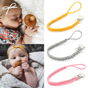 1Pc New baby pacifier clip chain holder nipple leash strap pacifier soo RAS