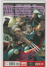 Wolverine #5 Marvel Now comics 2014 Leads up to the Death of 1st print NM-