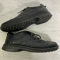 Ecco Black Leather Shoe Size 42