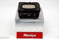 Mamiya RZ PRO II D/ RZ PRO II / RZ 120 6x7 FILM BACK in MAMIYA BACK POUCH CASE