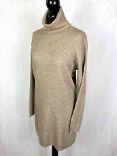TRUSSARDI Abito Vestito Donna Lana Dritto Oversize Wool Woman Dress Sz.M - 44