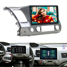 Android 9.1 Car Stereo Radio 10.1'' HD Screen Head Unit For Honda Civic 2006-11