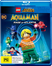 LEGO DC Comics Super Heroes: Aquaman - Rage of Atlanti  - BLU-RAY - NEW Region B
