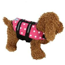 Pet Reflective Saver Life Safety Vest Dog Pet Life Jacket Swim Summer Flotation
