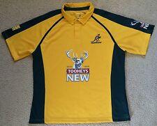 New XL Mens Australia Wallabies Rugby Union Jersey 2011 New Ex Shop Stock