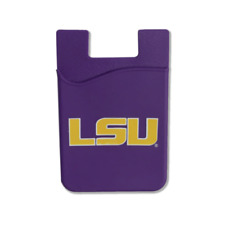 LSU TIGERS CELL PHONE CARD HOLDER WALLET DESDEN SOLID ACCESSORIES UNIVERSITY