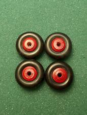 "Original Wyandotte red wood hub 2 3//8/"" tire"